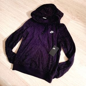 NWT Nike Cowl Neck Speckled Pullover